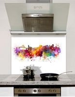 Picture of Watercolour San Francisco Splashback