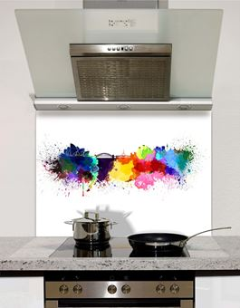 Picture of Watercolour Sydney Splashback