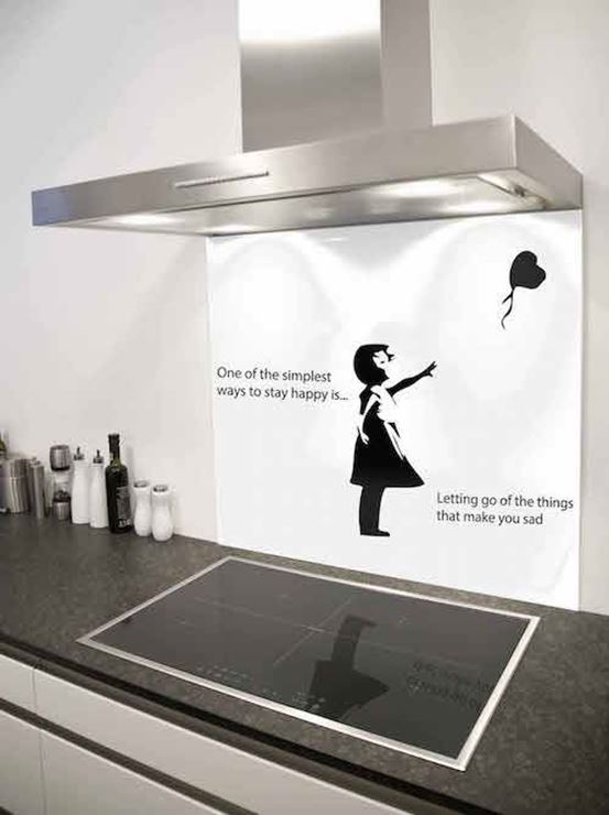 Picture of Banksy let go Splashback