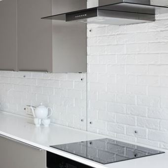 Picture of Clear Glass Splashbacks