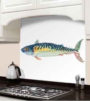 Picture of Barbara Allen Fish Splashback