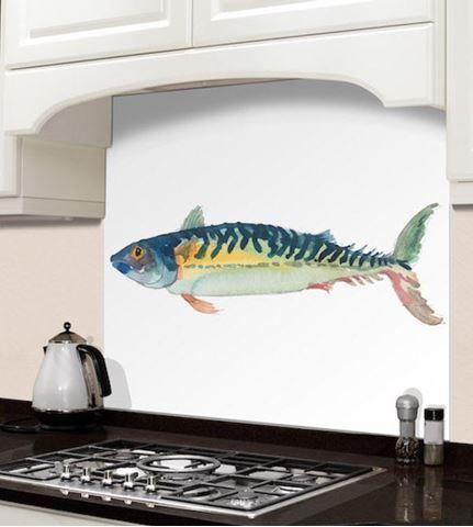 Picture of Barbara Allen Fish Splashback