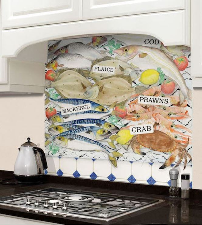 Picture of Barbara Allen Fishmongers Splashback