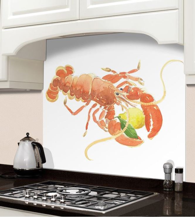 Picture of Barbara Allen Red Lobster Splashback