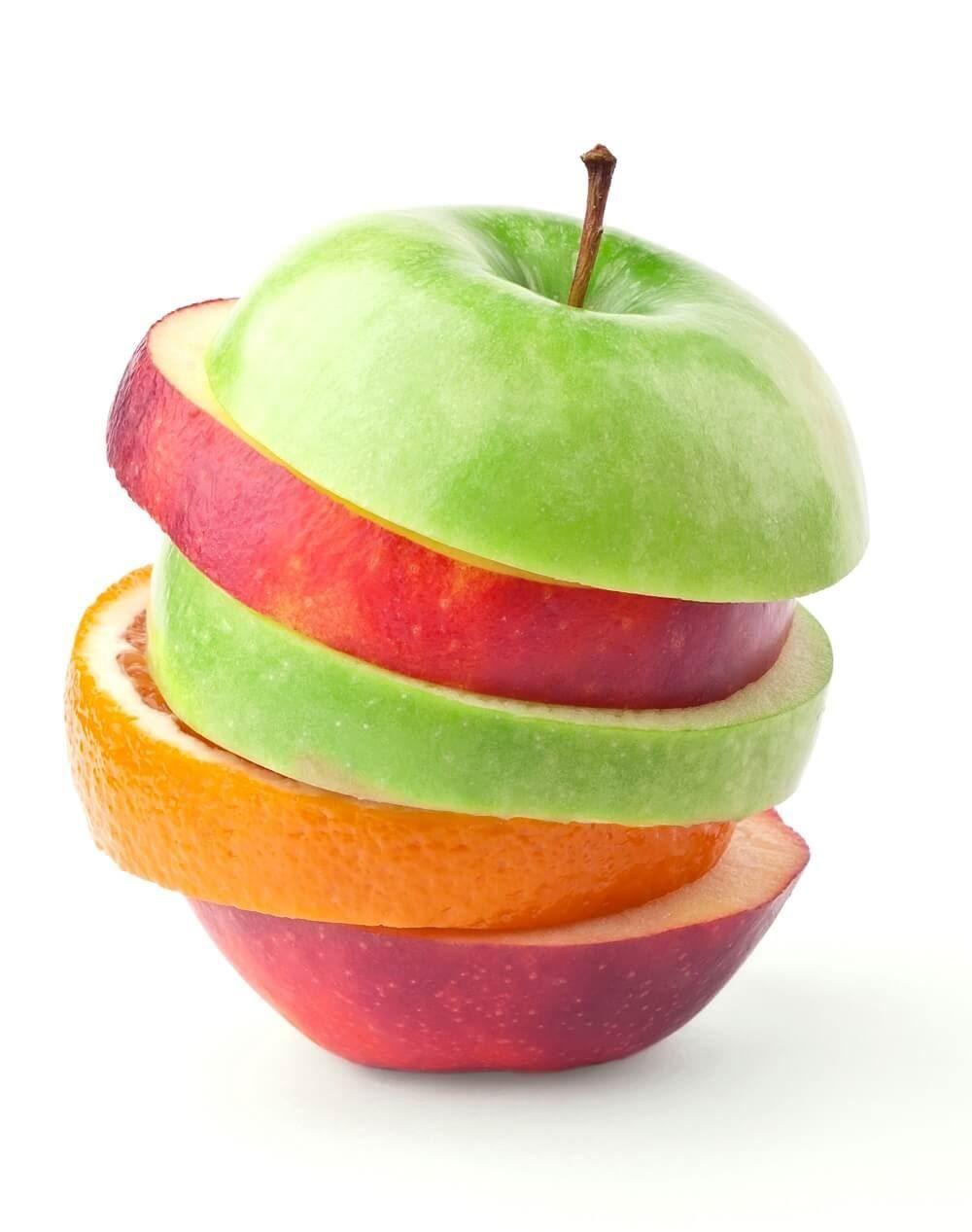 Fruit Slices Glass Splashback