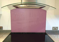 Picture of Dulux Waterlily Blush 2 Splashback