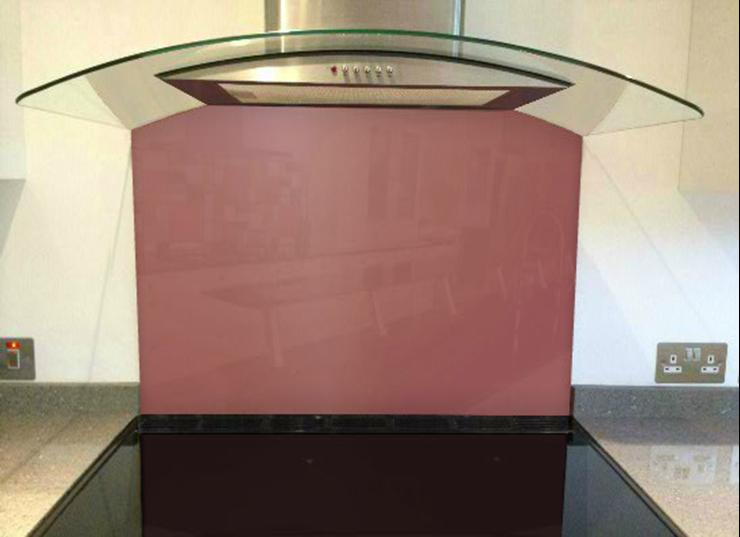 Picture of Dulux Adobe Pink 1 Splashback