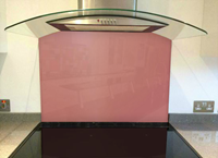 Picture of Dulux Adobe Pink 2 Splashback
