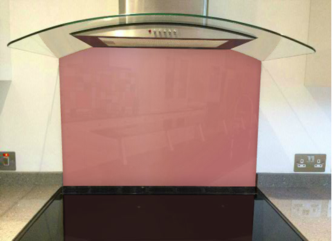 Picture of Dulux Adobe Pink 2 Splashback