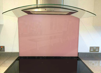 Picture of Dulux Adobe Pink 3 Splashback