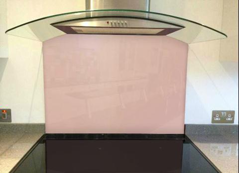 Picture of Dulux Adobe Pink 4 Splashback
