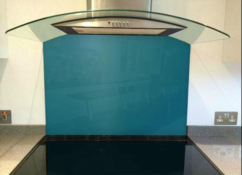 Picture of Dulux Azure Fusion 2 Splashback