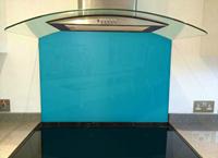 Picture of Dulux Azure Fusion 4 Splashback