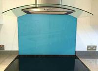 Picture of Dulux Azure Fusion 5 Splashback