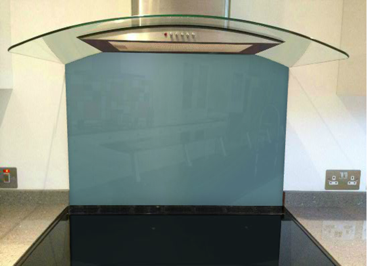 Picture of Dulux Winter Teal 1 Splashback
