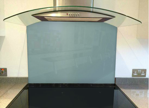 Picture of Dulux Winter Teal 2 Splashback