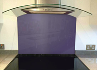 Picture of Dulux Amethyst Falls 2 Splashback