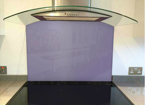 Picture of Dulux Amethyst Falls 5 Splashback
