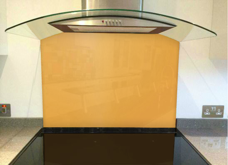 Picture of RAL Pastel yellow Splashback