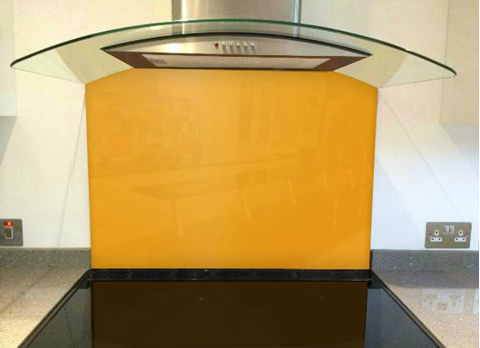 Picture of RAL Sun yellow Splashback