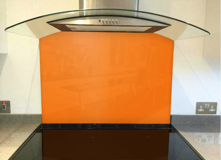 Picture of RAL Pastel orange Splashback