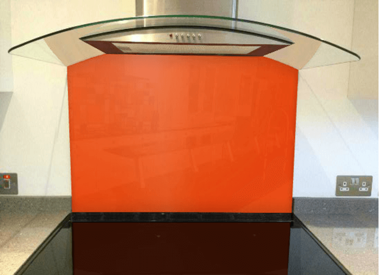 Picture of RAL Pure orange Splashback