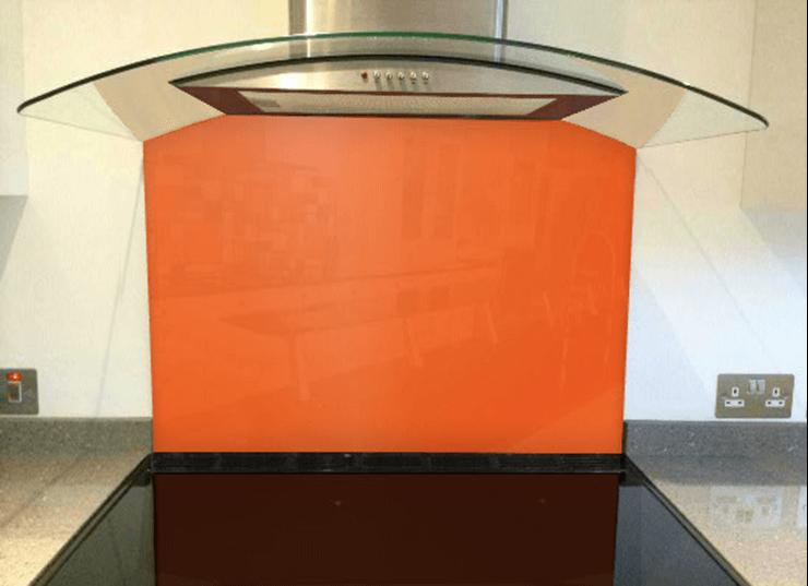 Picture of RAL Bright red orange Splashback
