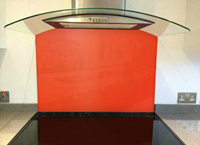 Picture of RAL Traffic orange Splashback