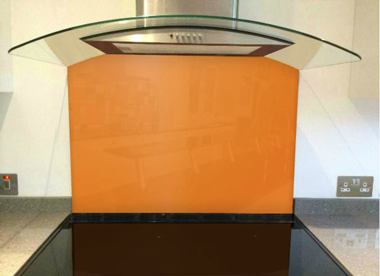 Picture of RAL Deep orange Splashback