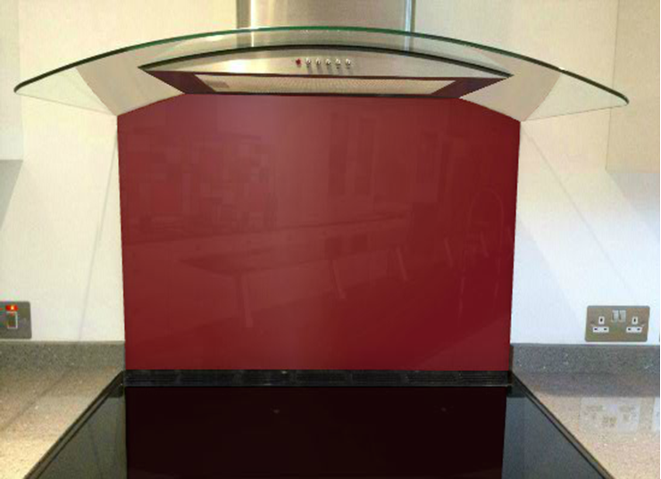 Picture of RAL Purple red Splashback