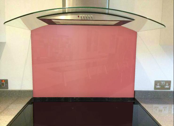 Picture of RAL Antique pink Splashback