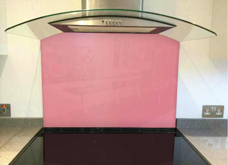 Picture of RAL Light pink Splashback