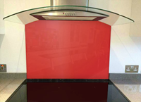 Picture of RAL Strawberry red Splashback
