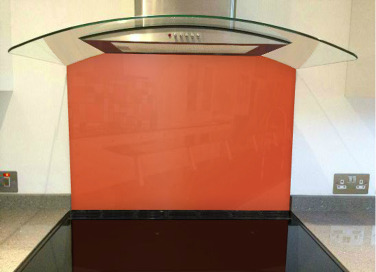 Picture of RAL Salmon pink Splashback