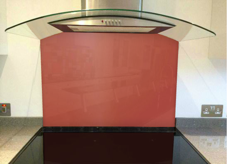 Picture of RAL Pearl pink Splashback