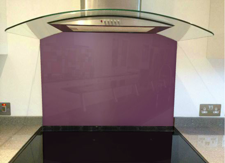 Picture of RAL Red lilac Splashback