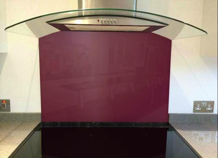 Picture of RAL Claret violet Splashback