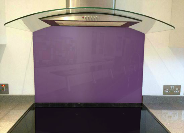 Picture of RAL Blue lilac Splashback