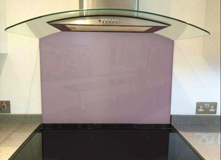 Picture of RAL Pastel violet Splashback