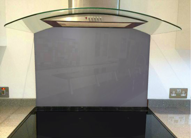 Picture of RAL Pearl black berry Splashback