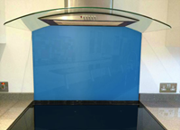Picture of RAL Traffic blue Splashback