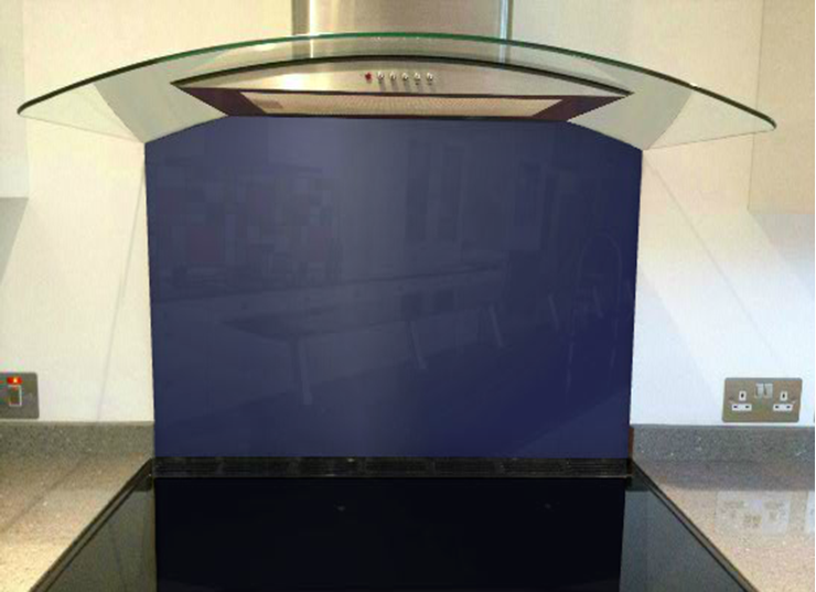 Picture of RAL Night blue Splashback
