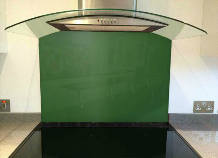 Picture of RAL Leaf green Splashback