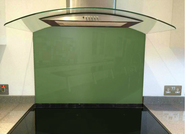 Picture of RAL Reseda green Splashback