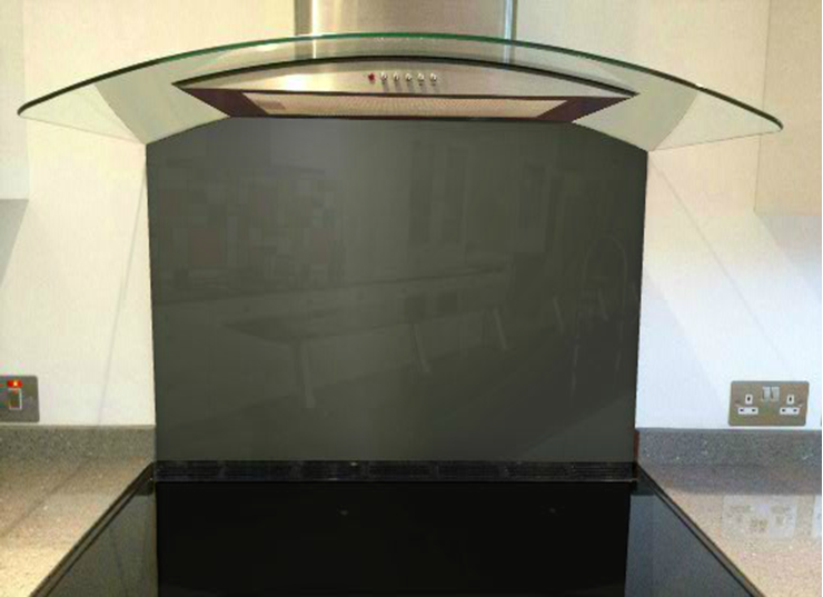 Picture of RAL Black olive Splashback