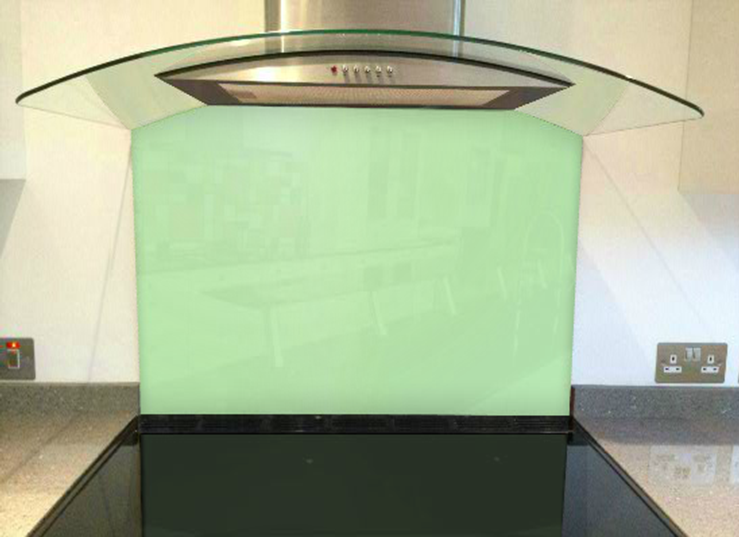 Picture of RAL Pastel green Splashback