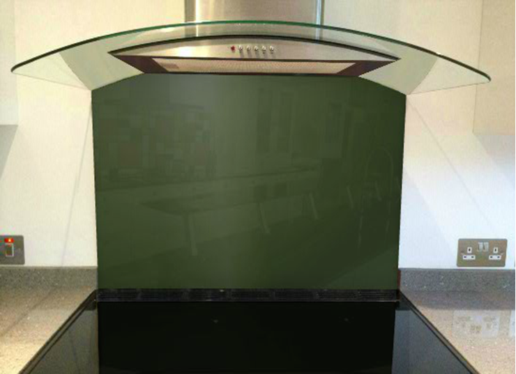 Picture of RAL Chrome green Splashback