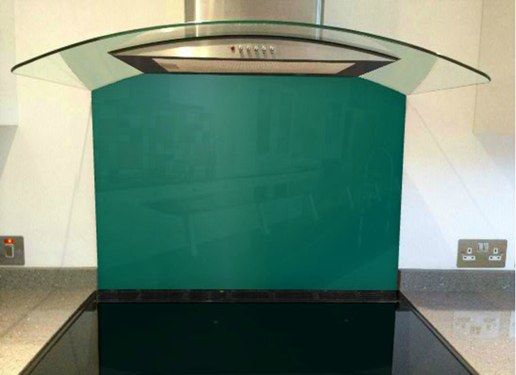 Picture of RAL Opal green Splashback
