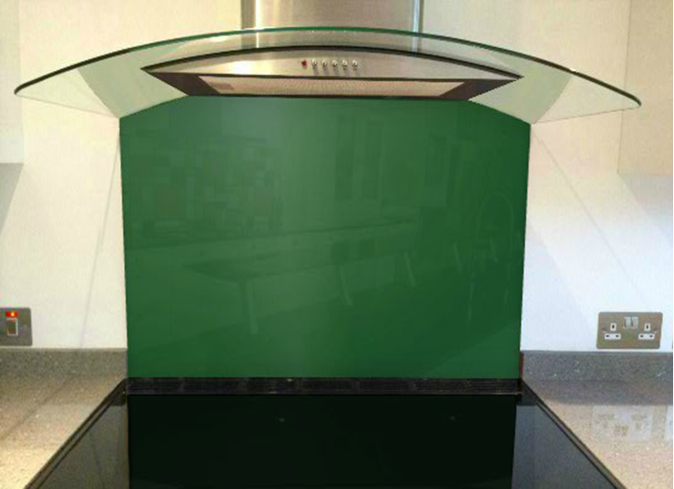 Picture of RAL Pearl green Splashback