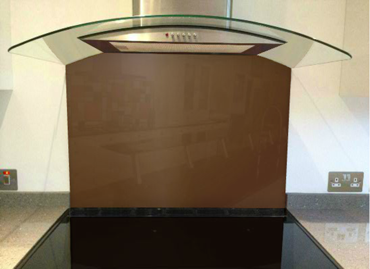 Picture of RAL Fawn brown Splashback